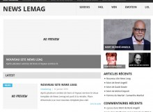 La Home Page de News Lemag