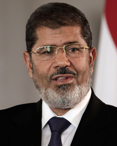 Mohamed Morsi, le président égyptien