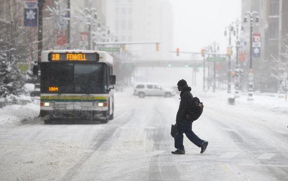 Vague de froid sans précédent en Amérique du Nord