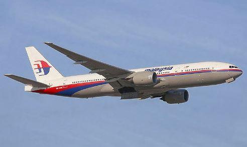 boeing 777 de la Malaysia Airlines