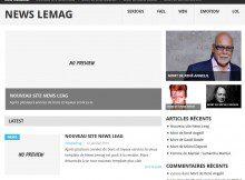 La Home Page de News Lemag