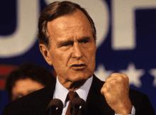 George Bush Sr